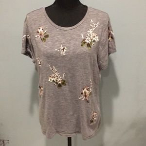 Abercrombie & Fitch Embroidered Tee